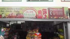 Se vende fluver supermercado y fama todo en uno