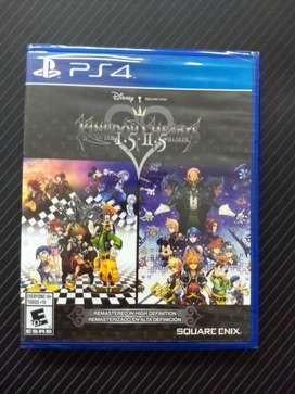 Kingdom Hearts 1.5 + 2.5 - Juego PS4 original, nuevo y sellado