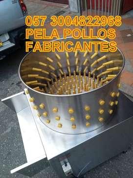 PELA POLLOS Y GALLINAS, DESPLUMADORAS