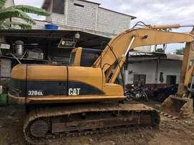 Vendo escavadora caterpillar 320CL