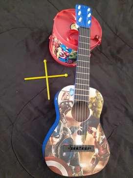 Guitarra de juguete + Tambor infantil
