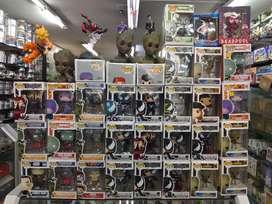 Funko pop's y juguetes de coleccion
