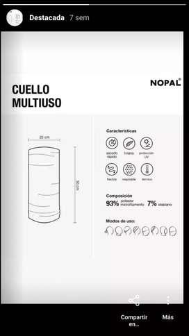 CUELLOS MULTIUSOS NOPAL