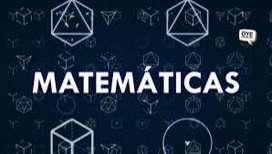 Clases de matemáticas y cálculo