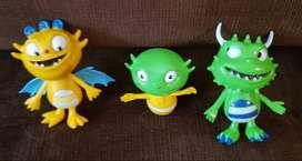 Muñecos Plastisol Henry Huggle Monster Disney Torta ASP