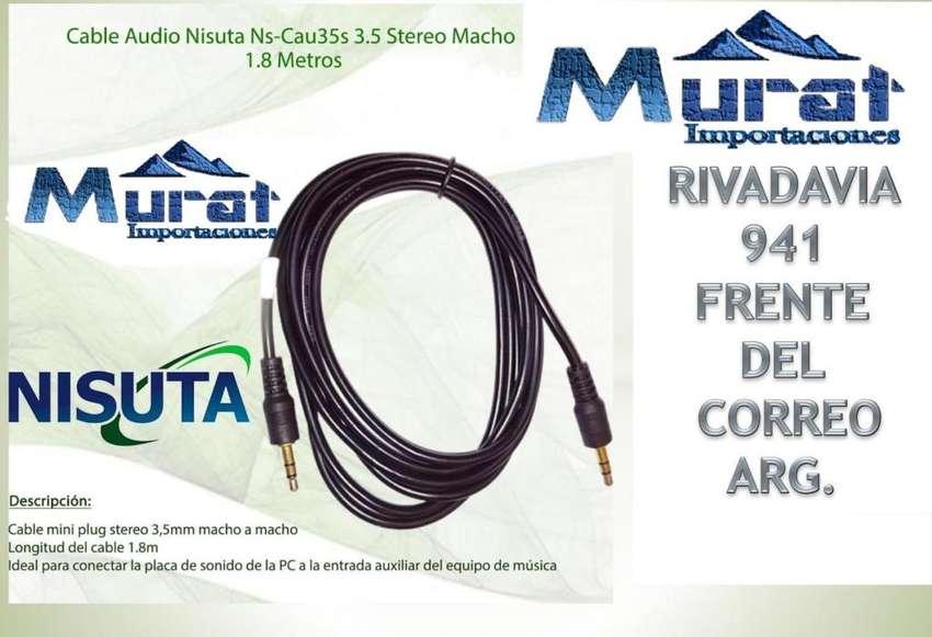 CABLE AUXILIAR 1.8 M NISUTA 0