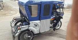 Se vende mototaxi honda por motivo de viaje