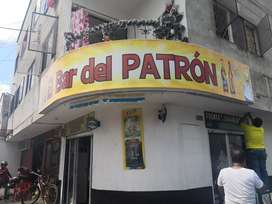 Se vende Bar tomadero el patron