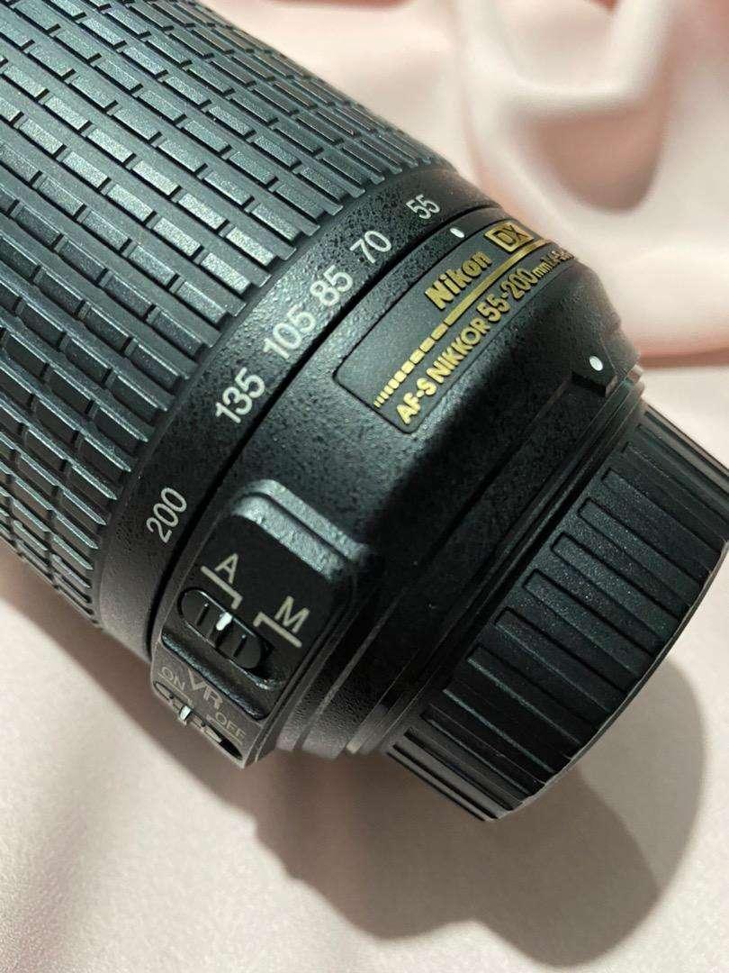 Nikon AF-S DX nikkor 55-200 mm f/4-5.6G ED