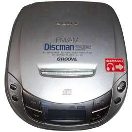 Discman Sony Groove Para Reparar O Repuestos