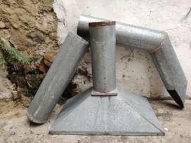 Extractor con Campana