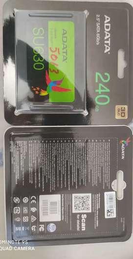 SSD Adata de 240 gigas alto rendimiento