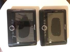 Reproductor DVD portatil , doble pantalla
