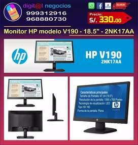 "Monitor HP modelo V190 - 18.5"" - 2NK17AA"