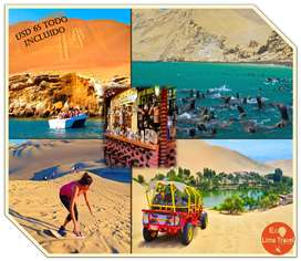 FULL DAY PARACAS/ICA/HUACACHINA