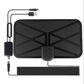 Antena Panel Tdt + Amplificador Señal Digital Dvb-t2 Hd Hq