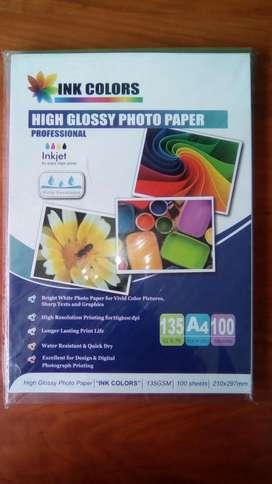 Papel Fotografico Ink Colors Paper