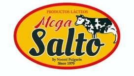"""Fábrica de lácteos """"Mega Salto"""" requiere los servicios de un agente vendedor con experiencia. Interesados inbox."""