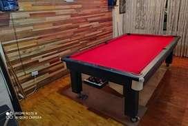Mesa de billar mixta pool y billar