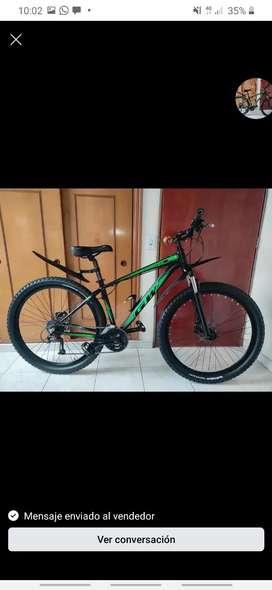 Bicicleta tipo montaña