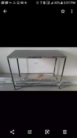 Mesa en aluminio