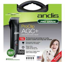 Maquina Andis Proclip Agc+ 1 Velocidad Negro, Corta Pelo Perro Mascota, Nuevo