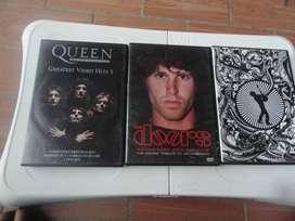 DVD originales nuevos ídolos del rock,