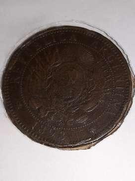 Moneda antigua Argentina