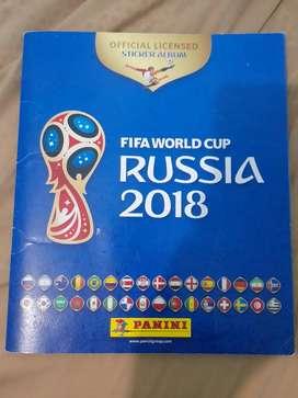 Álbum DEL MUNDIAL DE LA FIFA 2018 LLENO