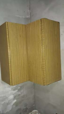 Alacena de madera esquinero