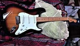 Fender Stratocaster Standard Mexico Casi Sin Uso C/est Rigido
