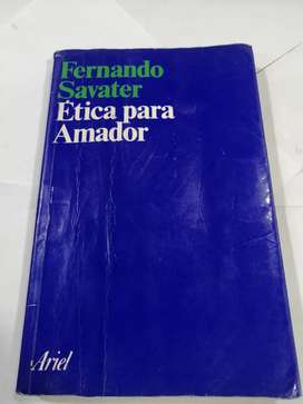 Fernando savater ética para Amador Ariel  editorial