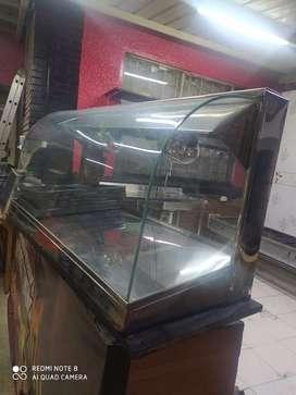 Exhibidor de alimentos con calefacción