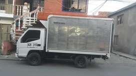 Camion jmc en buen estado listo para hacer traspaso con termokin