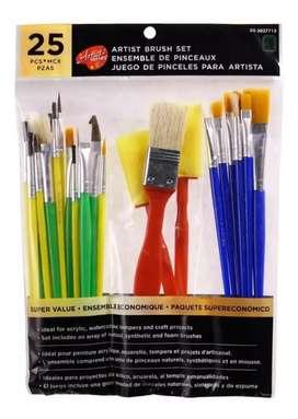 SET de pintura y pinceles