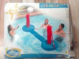 Voleibol piscina inflable volibol