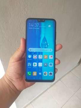 Huawei y9 2019 con pantalla fisurada no afecta funcionamiento