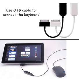 Cable Usb Otg Host Iphone 5 Samsung Galaxy 7 Tab 10 S3 Note