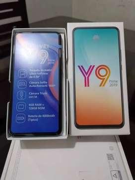Les traigo un smartphone que cumple en todo y moderno Huawei y9 prime 2019 en caja dos días de comprado solo serios