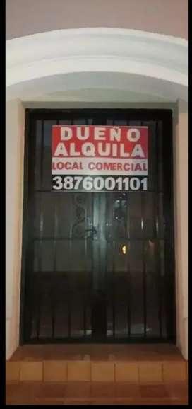 DUEÑO ALQUILA LOCAL CONERCIAL ZONA CENTRO