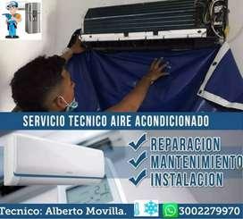Reparación de aires acondicionados y neveras
