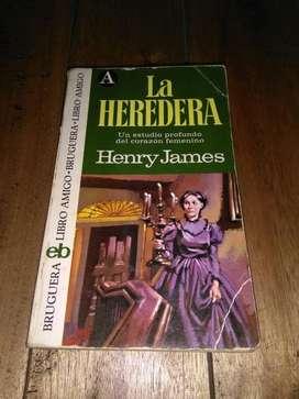 La Heredera . Henry James . libro amigo Bruguera 240