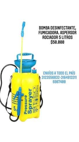 Bomba Fumigadora aspersor de 5 litros