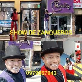 SUPER SHOW DE ZANQUEROS RESERVACIONES AQUI