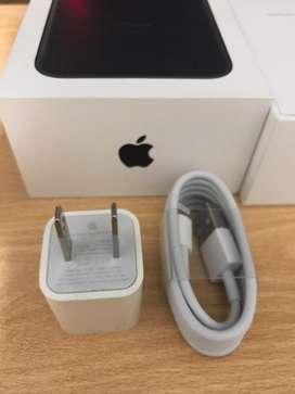 Cable lightning + Cubo de Iphone Nuevo Original