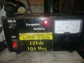 Cargador de baterías de 10amp automático}