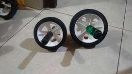 rueda reforzadas para trabajar el abdomen