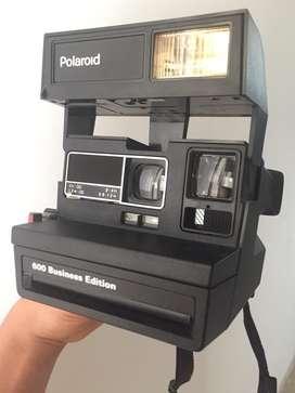 Camara instantanea polaroid 600 business edition