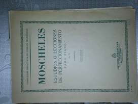 PARTITURA: ESTUDIOS DE PERFECCIONAMIENTO P/PIANO