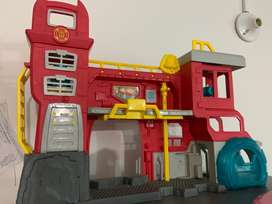 Set Juego Rescue Bots Headquarters Transformers